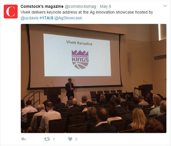 Comstock Vivek keynote