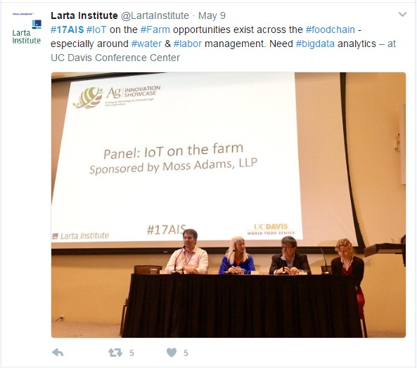 Larta IoT on the farm